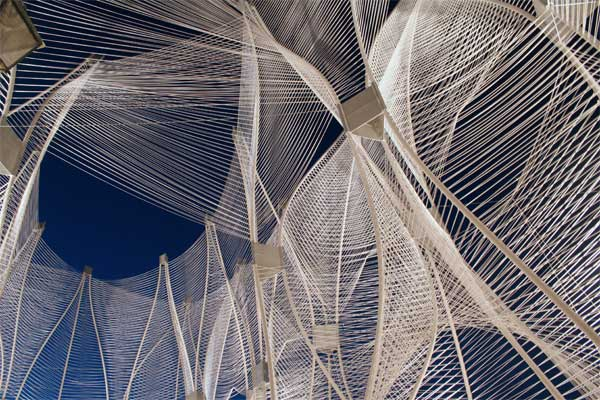 The shape of the wind design flourishes Wind architecture